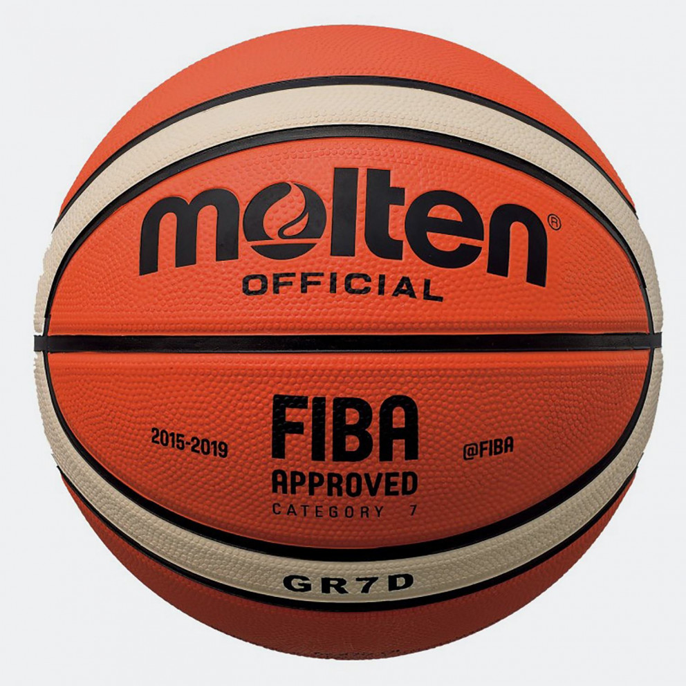 Molten Superior Rubber Cover Basketball No7 - Μπάλα Μπάσκετ