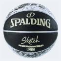 Spalding Sketch Series Black/white No7