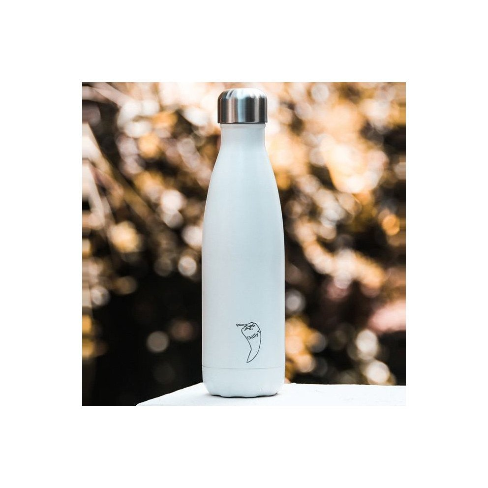 Chilly's Mono Matte White  0,5 L
