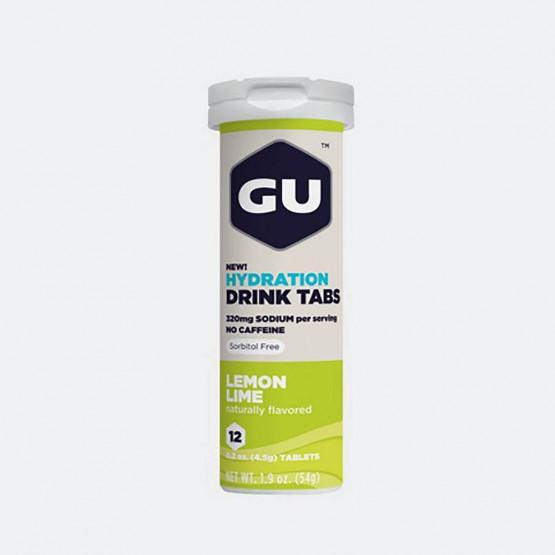 GU Ταμπλέτες Ηλεκτρολυτών - Lemon Lime (Σωληνάριο