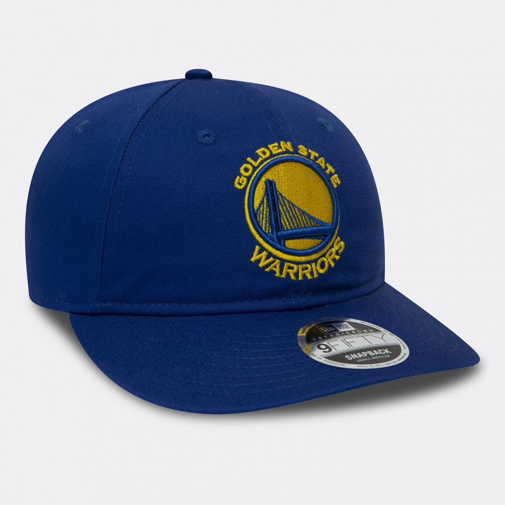 New Era Stretch Snap 9Fifty NBA Golden State Warriors Hat