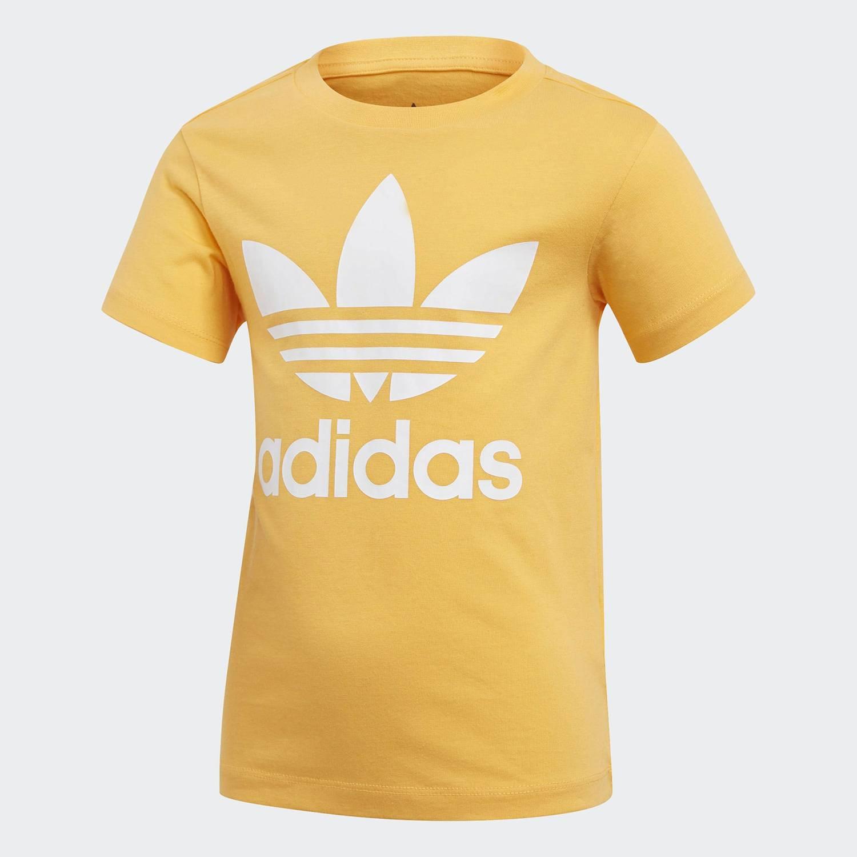 ADIDAS Originals Trefoil Tee T-shirt kids orange