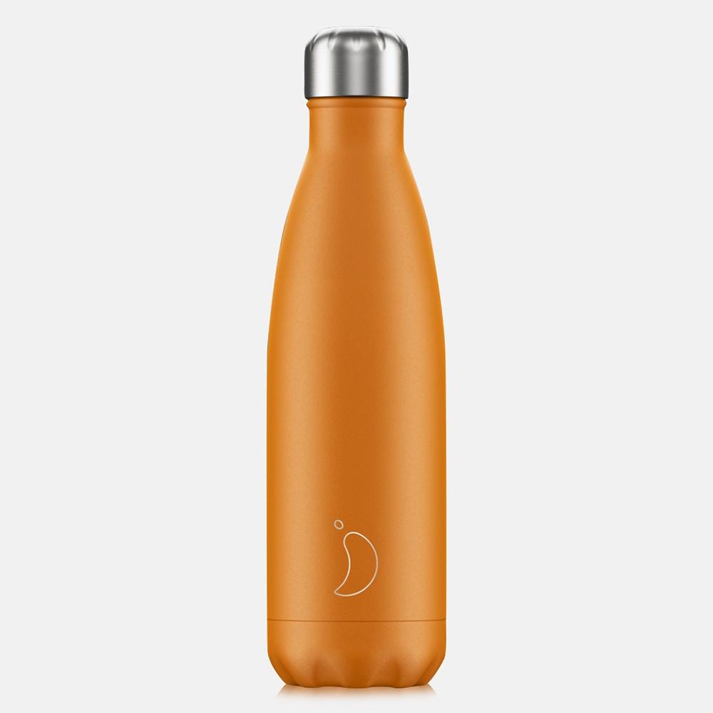 Chilly's Bottles Neon Orange 0,5 L - Μπουκάλι Θερμός