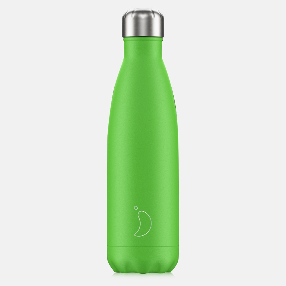Chilly's Bottles Neon Green 500 ml - Μπουκάλι Θερμός (9000033846_3565)