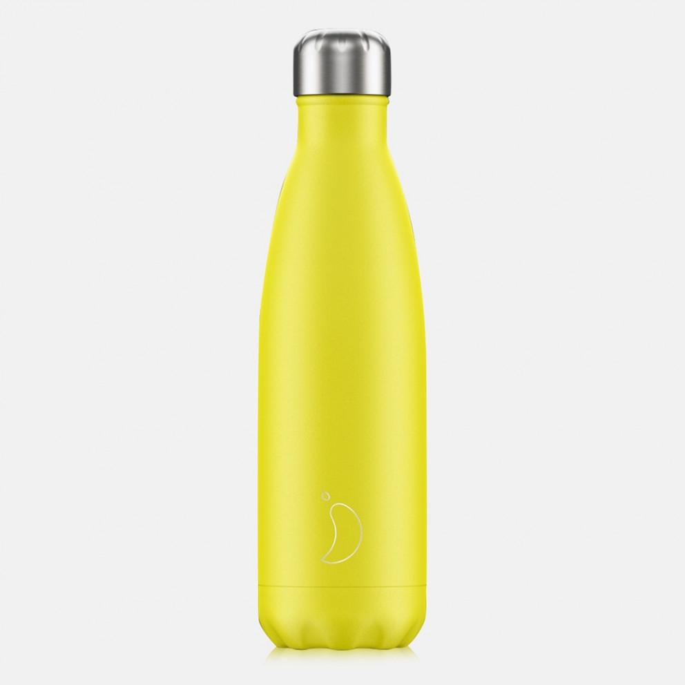 Chilly's Bottles Neon Yellow 500ml