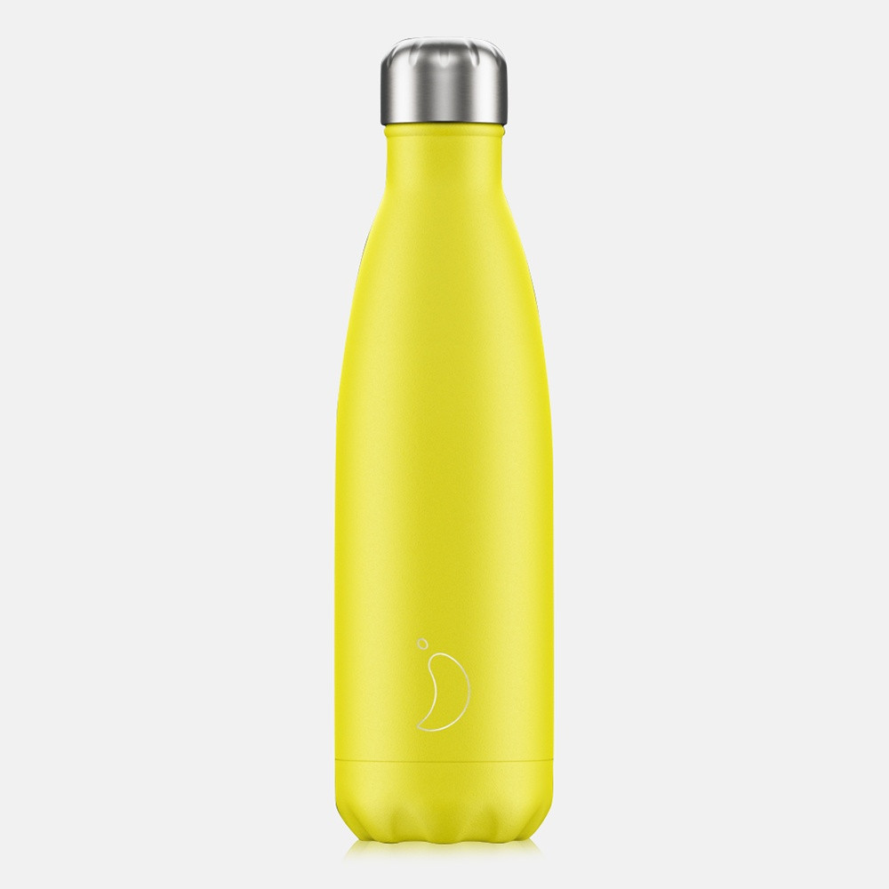 Chilly's Bottles Neon Yellow 500 ml - Μπουκάλι Θερμός (9000033848_2005)