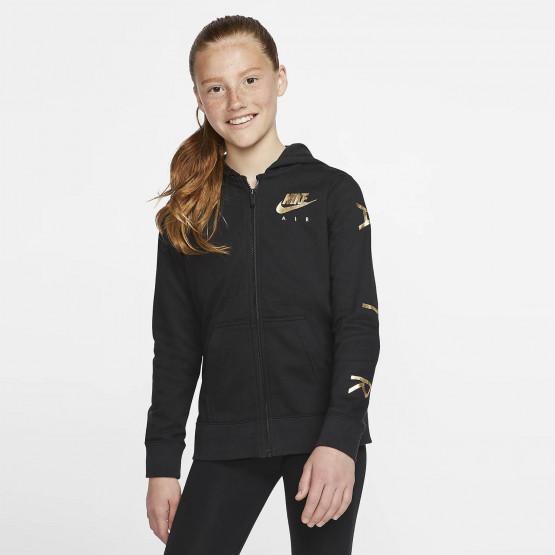 Nike Older Girls' Full-Zip Fleece Hoodie
