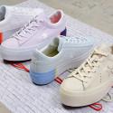 Converse One Star Platform Tri Block Low Top | Γυναικεία Sneakers