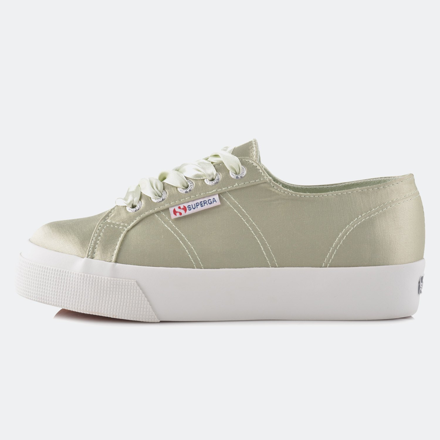 Superga 2730-SATINW Platform (9000004859_32455)