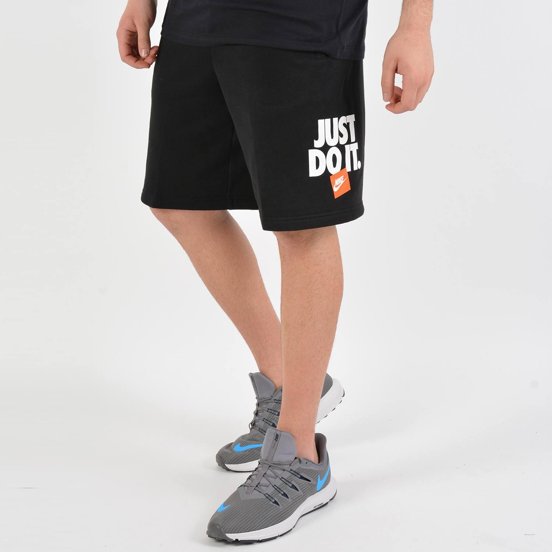 "Nike ""Just Do It"" Short Fleece Pants (9000024840_1469)"