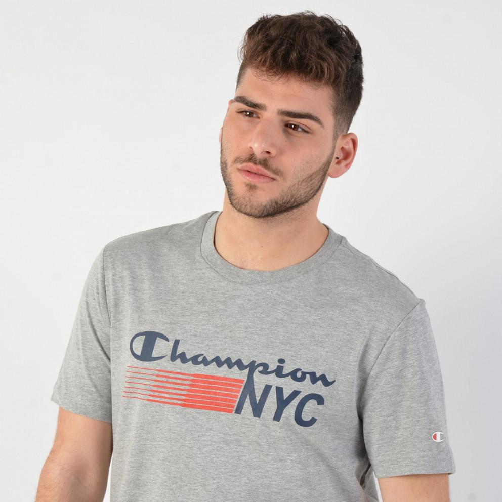 Champion Men's Nyc Crewneck T-Shirt