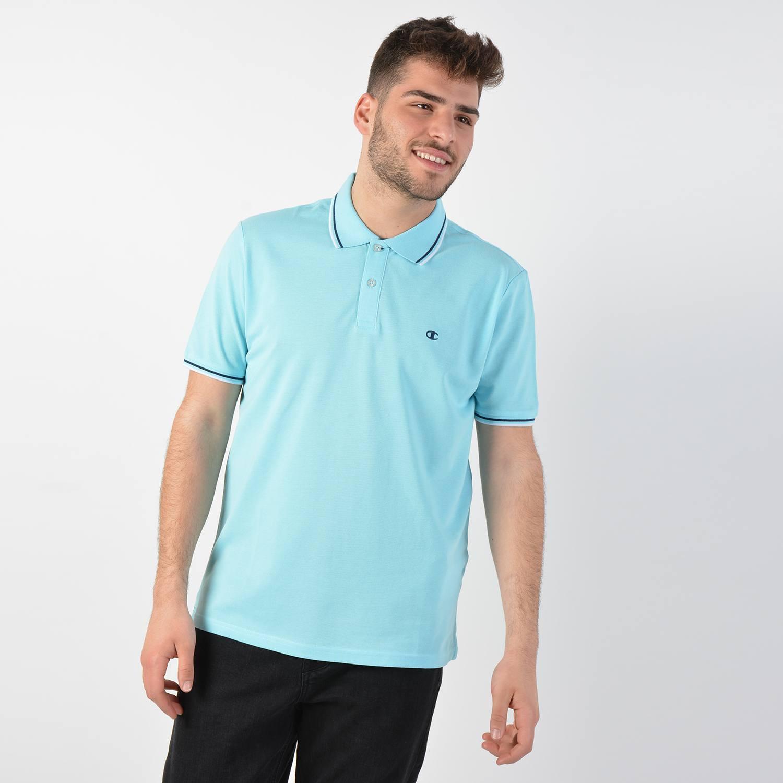 Champion Men's Polo - Ανδρικό Πόλο Μπλουζάκι (9000025580_37946)