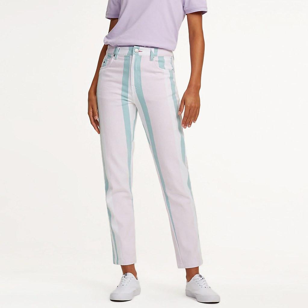 Tommy Jeans Contrast Stripe Trousers Γυναικείο Παντελόνι (9000029402_38814)
