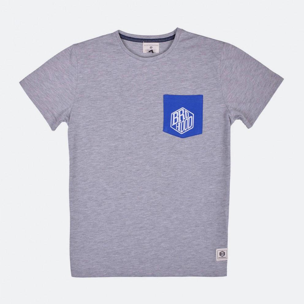 Brotherhood Bro-Hood Logo Pocket T-shirt
