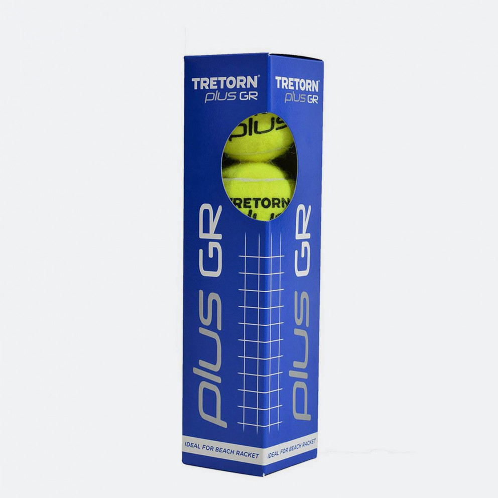 Tretorn Plus Gr 4 Pack Μπαλακι Τεννισ