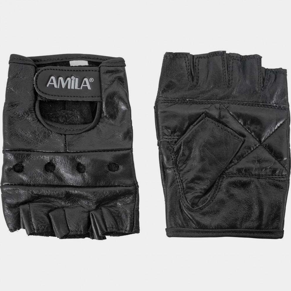 Amila Γάντια Άρσης Βαρών Medium