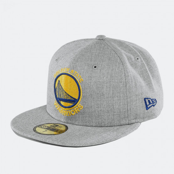 NEW ERA NBA HEATHER FITTED GOLDEN STATE WARRIORS