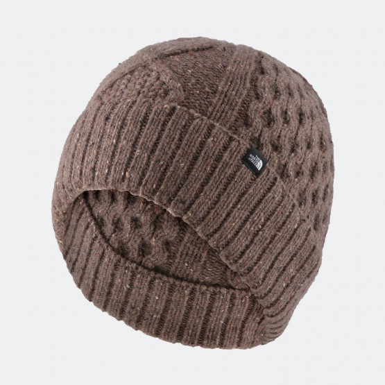 THE NORTH FACE LAMBSWOOL BEANIE FALCON BROWN
