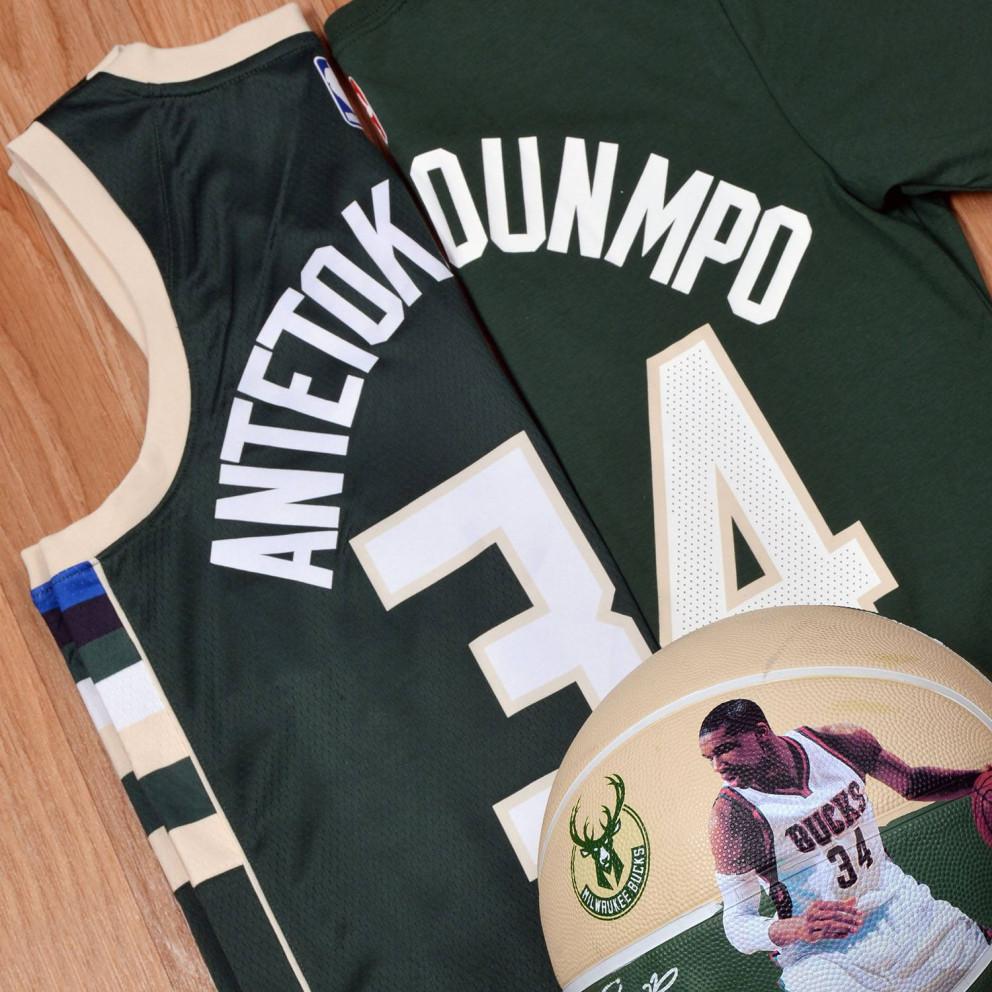Nike NBA Giannis Antetokounmpo Milwaukee Bucks Icon Edition Men's Jersey