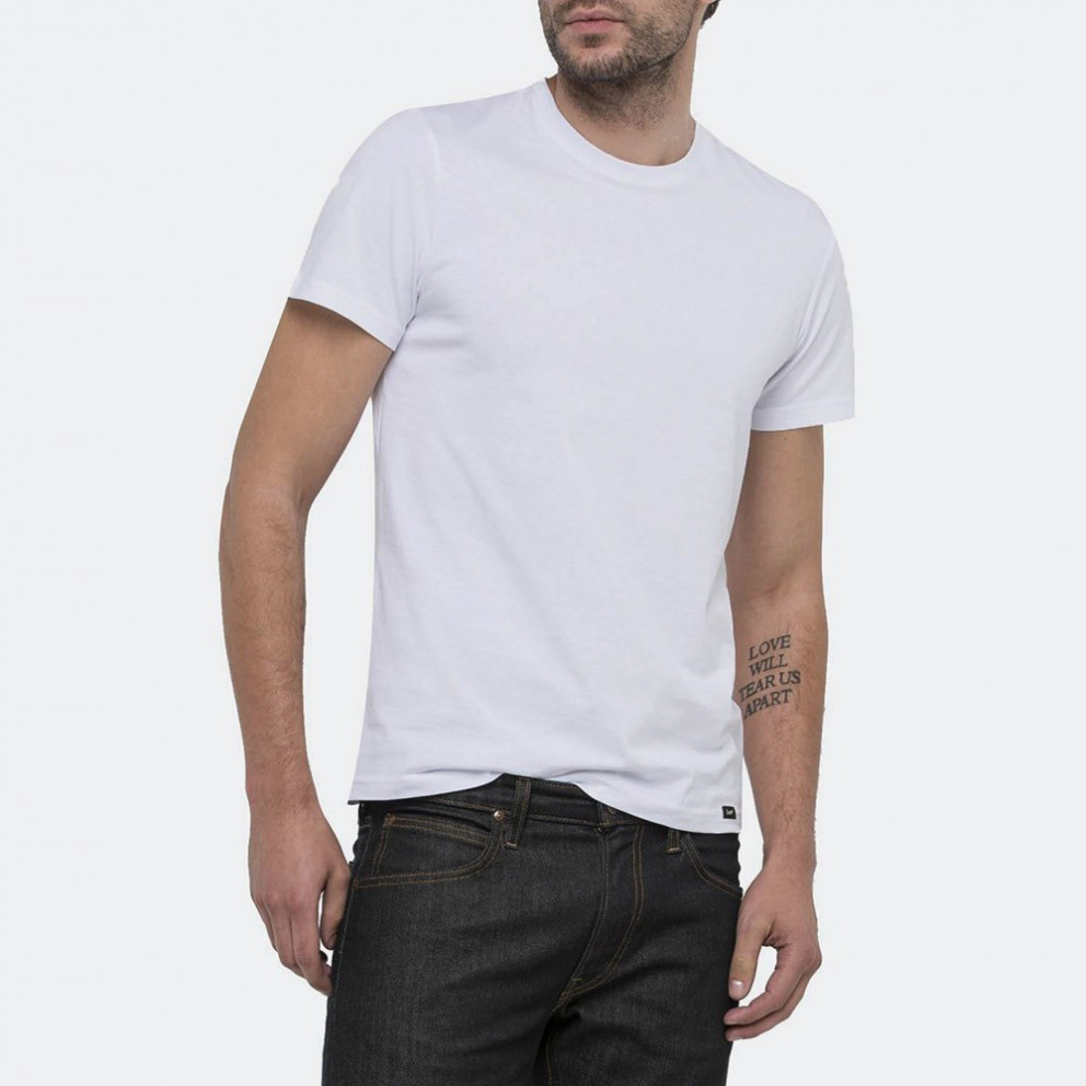 Lee Twin Pack Crew White
