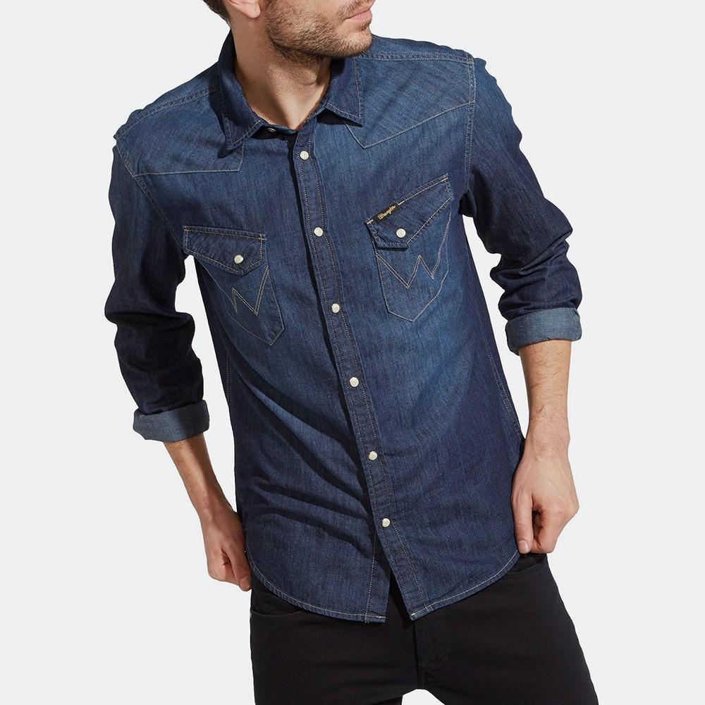 Wrangler Western Denim Shirt (2080910805_8353)
