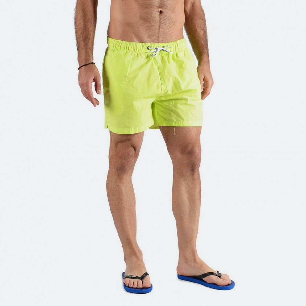 Basehit Men's Beach Short Garment Dyed