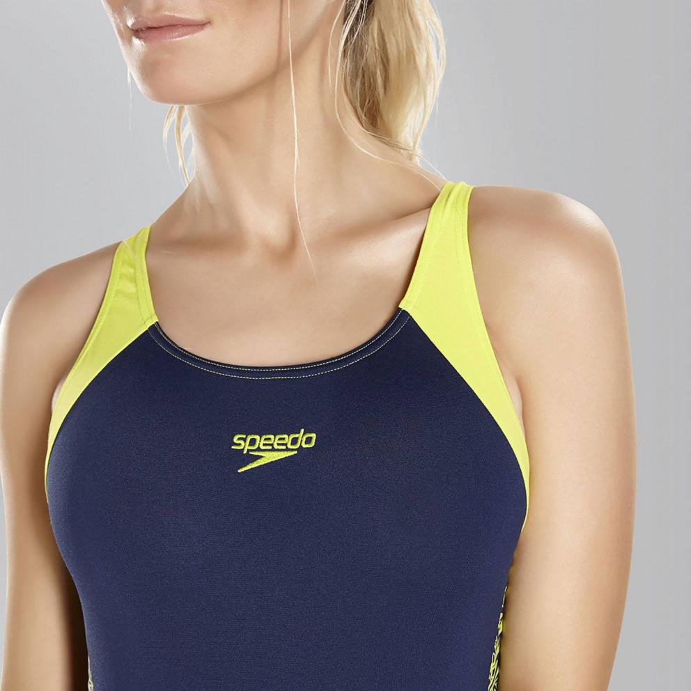 Speedo Boom Splice Muscleback Swimsuit