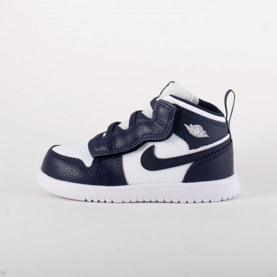Air Jordan 1 Mid - Βρεφικά Παπούτσια