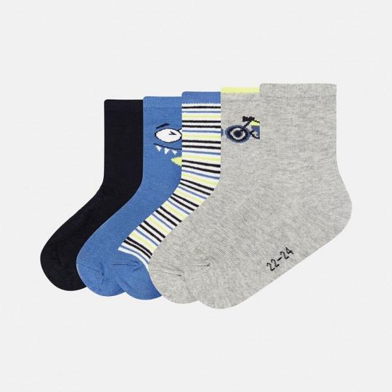 Name it Boys Infant 5 Pack Sock - Βρεφικές Κάλτσες