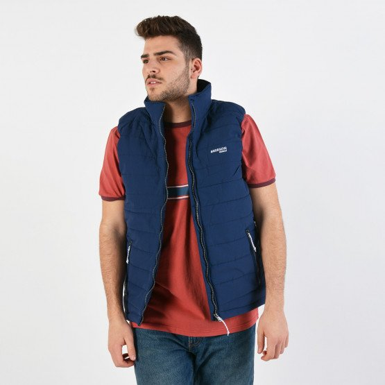 Emerson Men's Fake Down Quilted Vest Jacket
