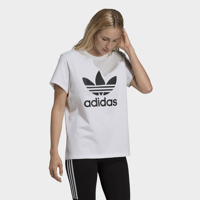 adidas Originals Boyfriend Trefoil Women's Tee - Γυαναικείο Μπλουζάκι (9000022716_1539)