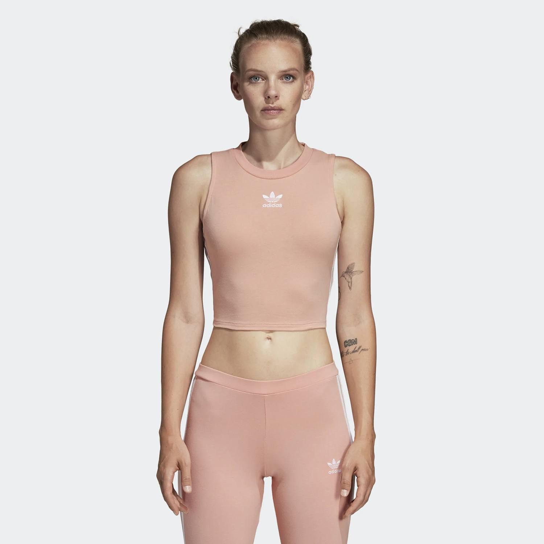 adidas Originals Women's Crop Top - Γυναικείο Μπλουζάκι (9000022715_30847)