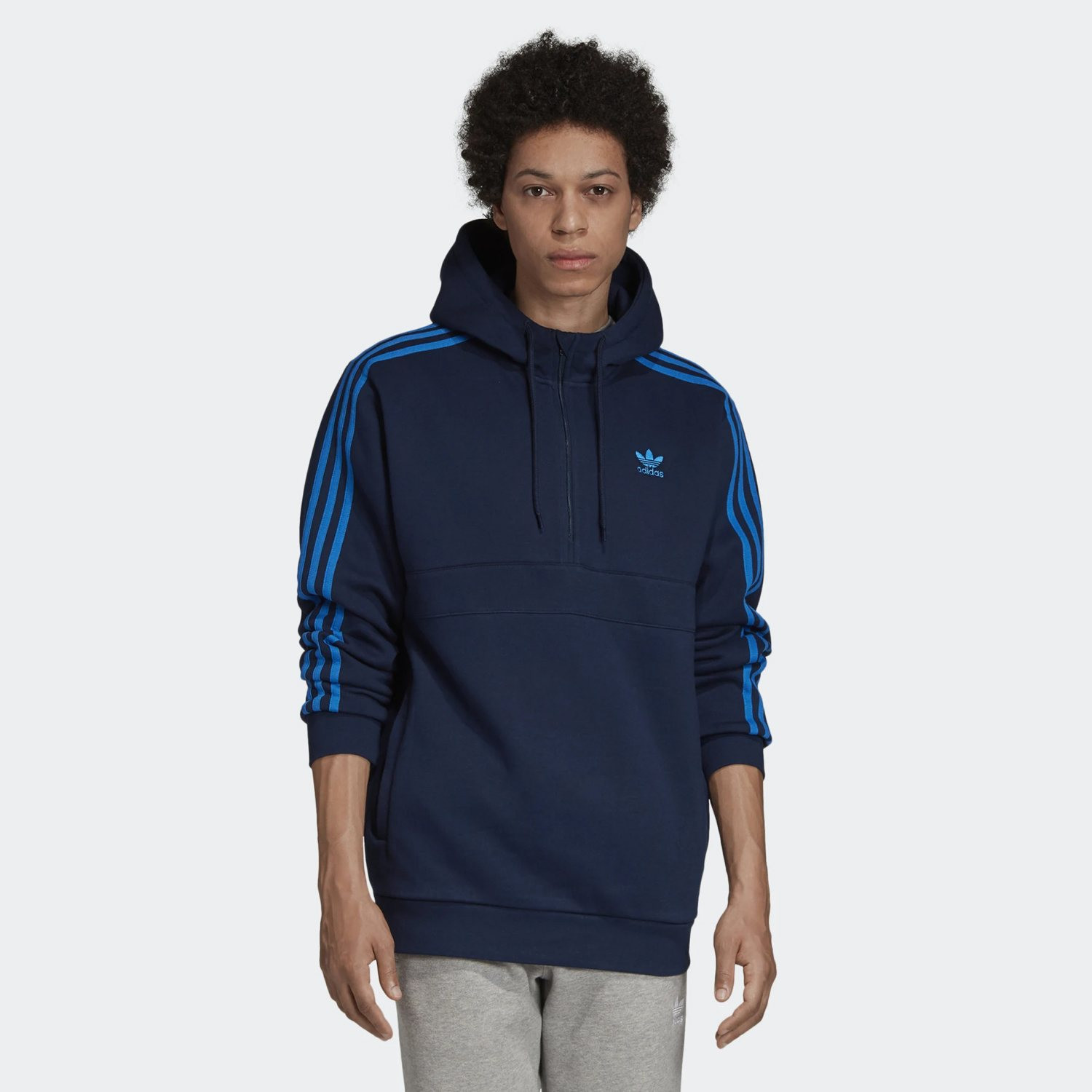 adidas Originals 3-Stripes Men's Hoodie (9000033494_39534)