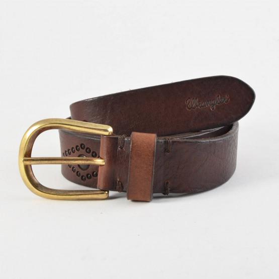 Wrangler Lucky Belt Brown