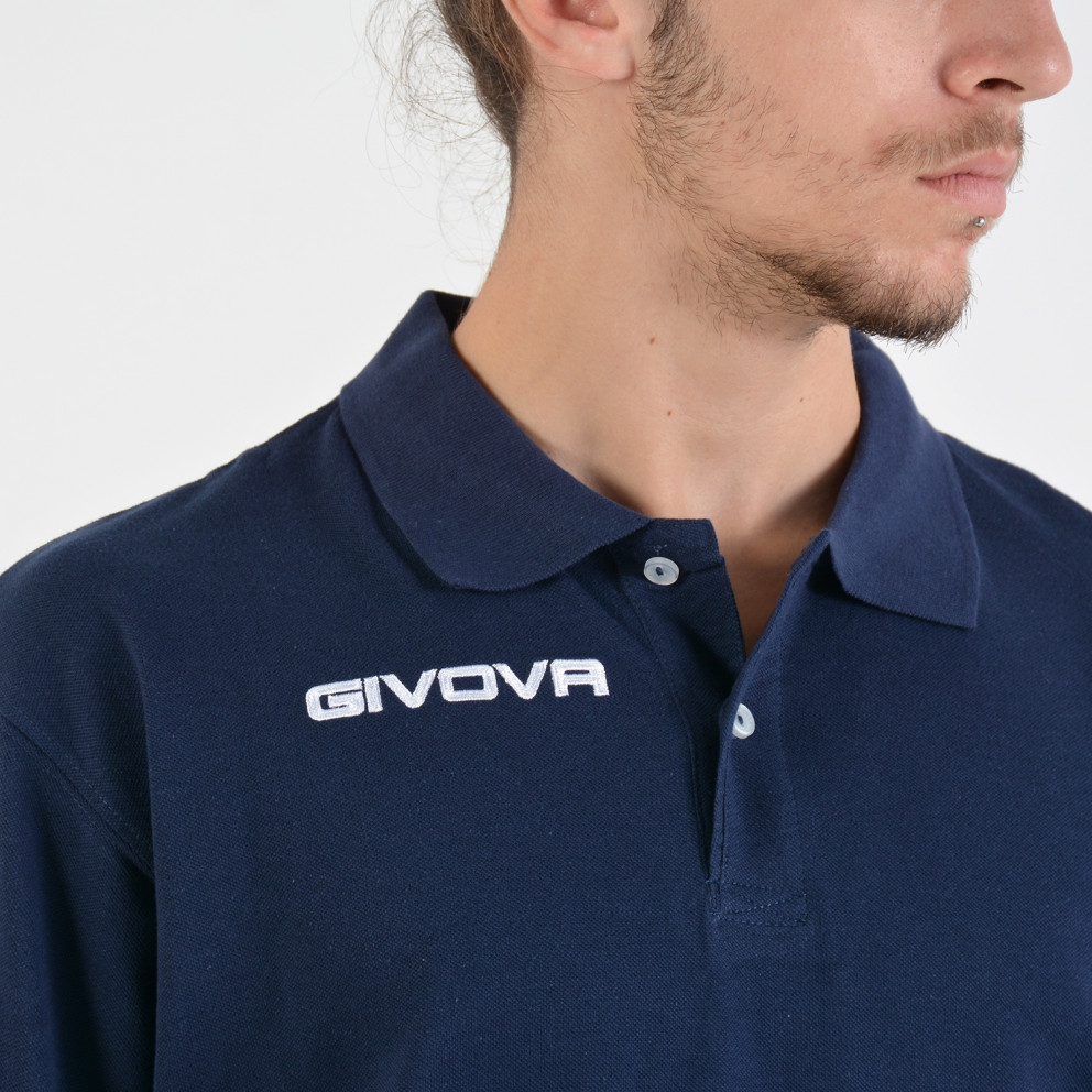 Givova Men's Polo T-Shirt - Ανδρική Polo Μπλούζα