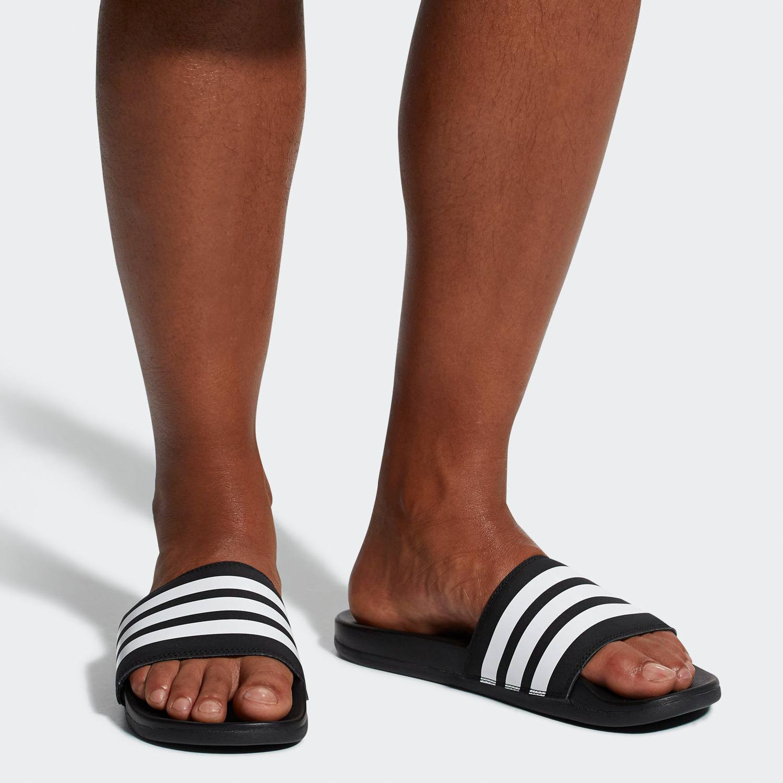 adidas Performance Men's Adilette Cloudfoam Plus Stripes Slides (9000012278_7625)