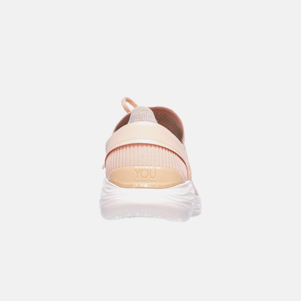 Skechers Two-Toned Knit Slip On W/ Lace