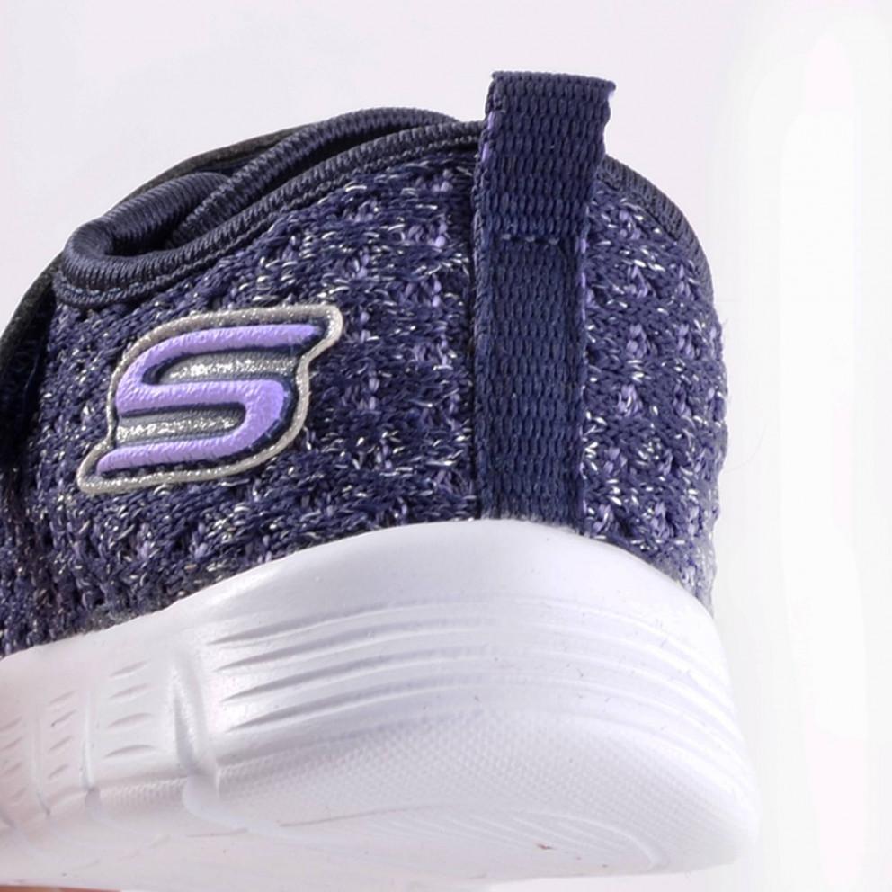 Skechers Sparkle Mesh Gore & Strap Sne