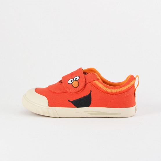 TOMS Red Elmo Face Canvas Tn Dohny Sneak
