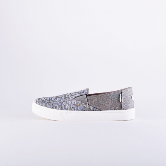 TOMS Twill Glimmer Youth Luca Slip On Shoes - Παιδικά Παπούτσια