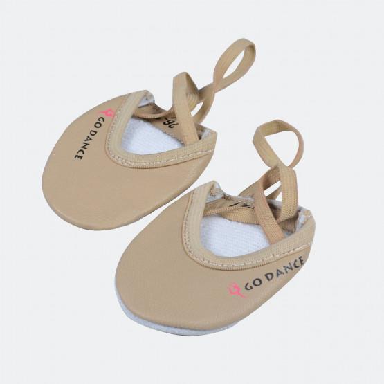 Go Dance Rhythmic Gym Half Shoes (Leather)