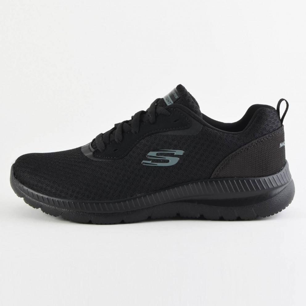 Skechers Mesh Lace Up Memory Foam Γυναικεία Παπούτσια