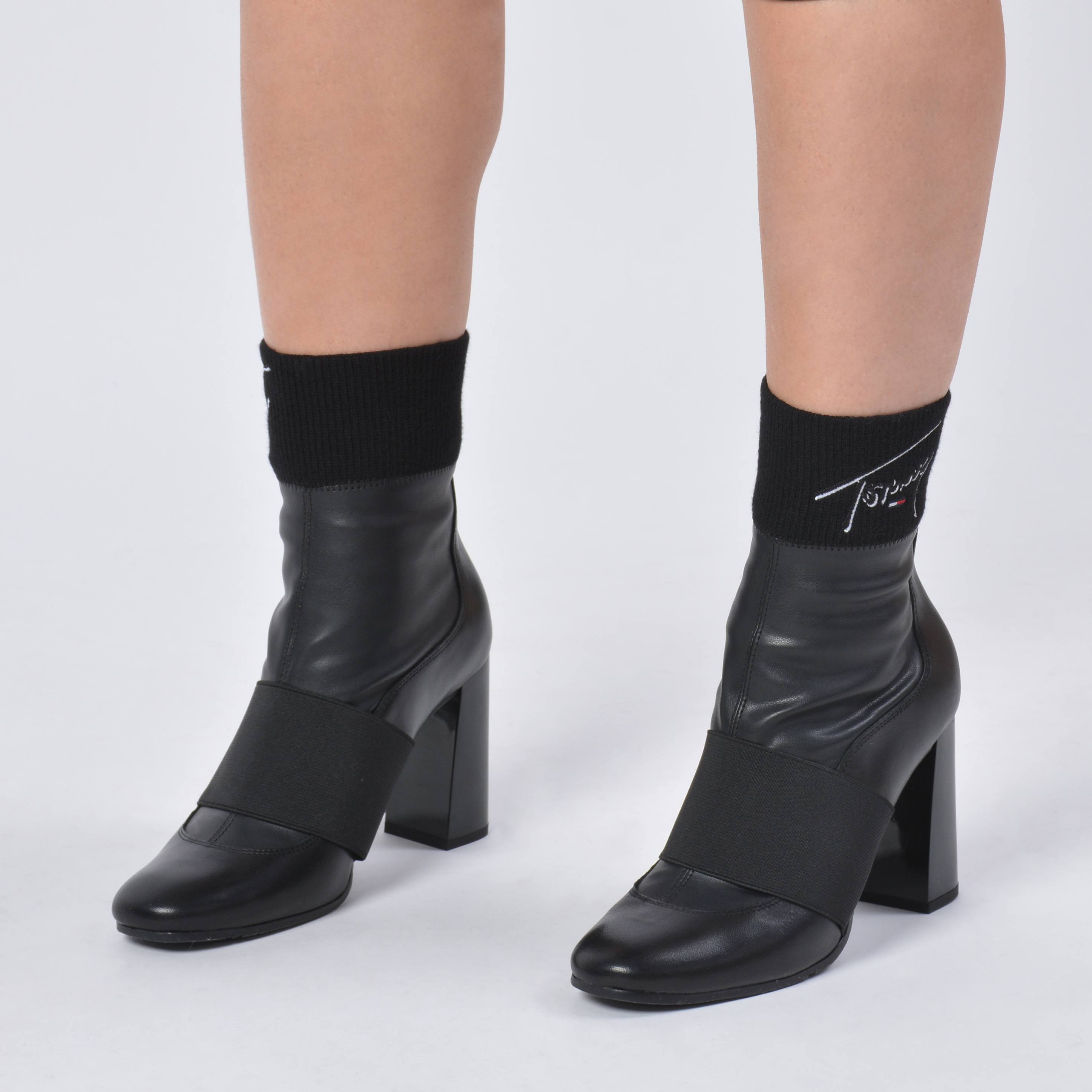 Tommy Jeans Tommy Signature Heeled Boot (9000039761_1469)