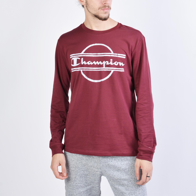 Champion Long Sleeve Crewneck T-Shirt (9000038407_41650)