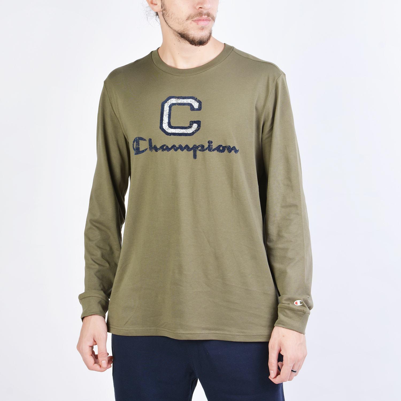 Champion Long Sleeve Crewneck T-Shirt (9000038406_41649)
