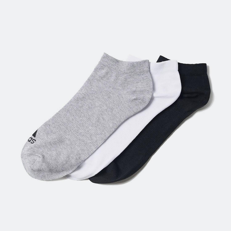 adidas Performance NO-SHOW THIN SOCKS 3 PAIRS (3083800444_9324)