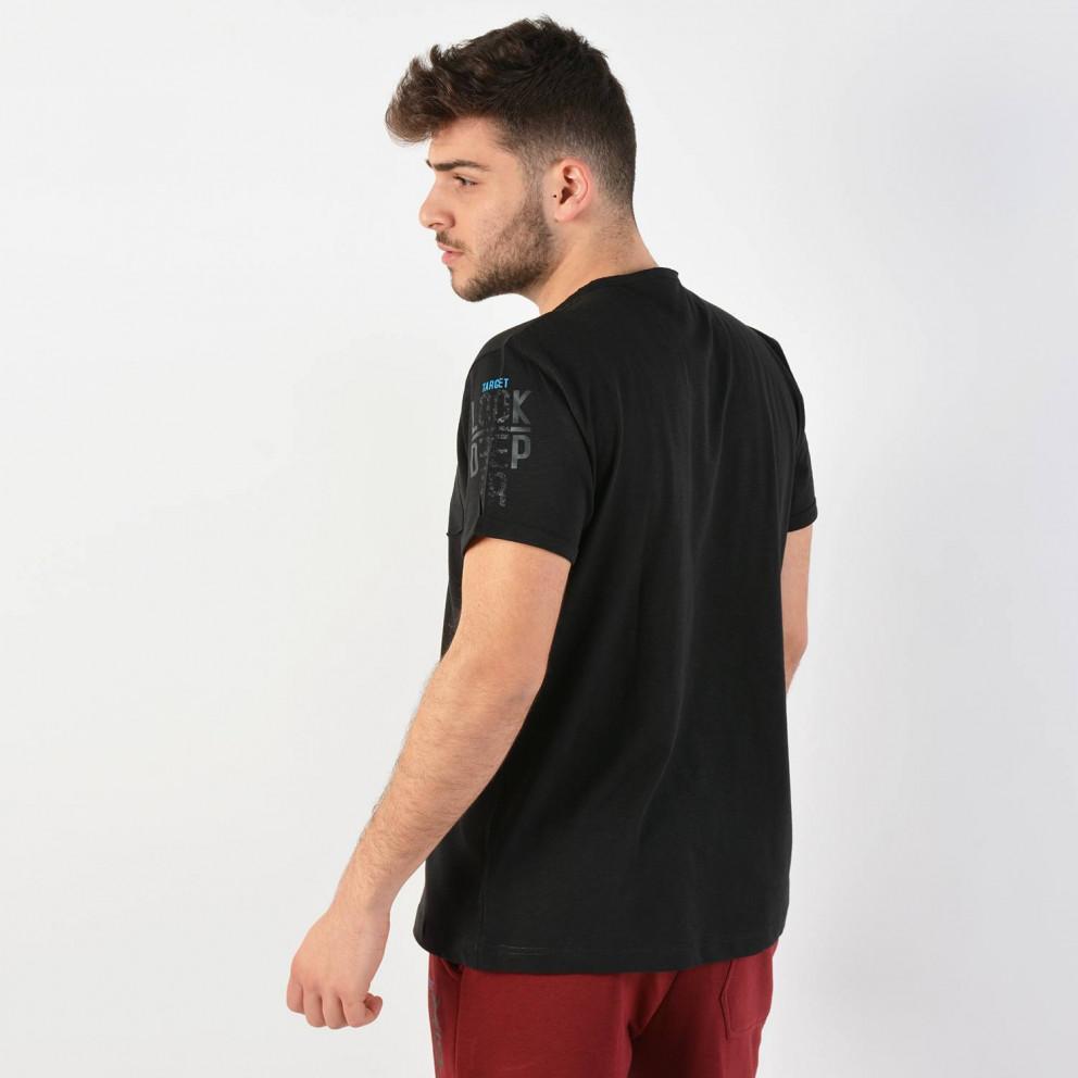 Target T-Shirt Τσεπακι  Καλτσα 1/30 Φλαμμα Look De