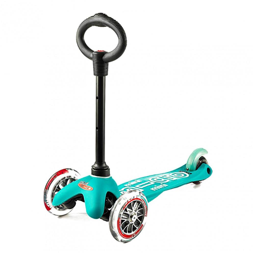 Micro 3In1 Mini Deluxe Aqua Kids Scooter