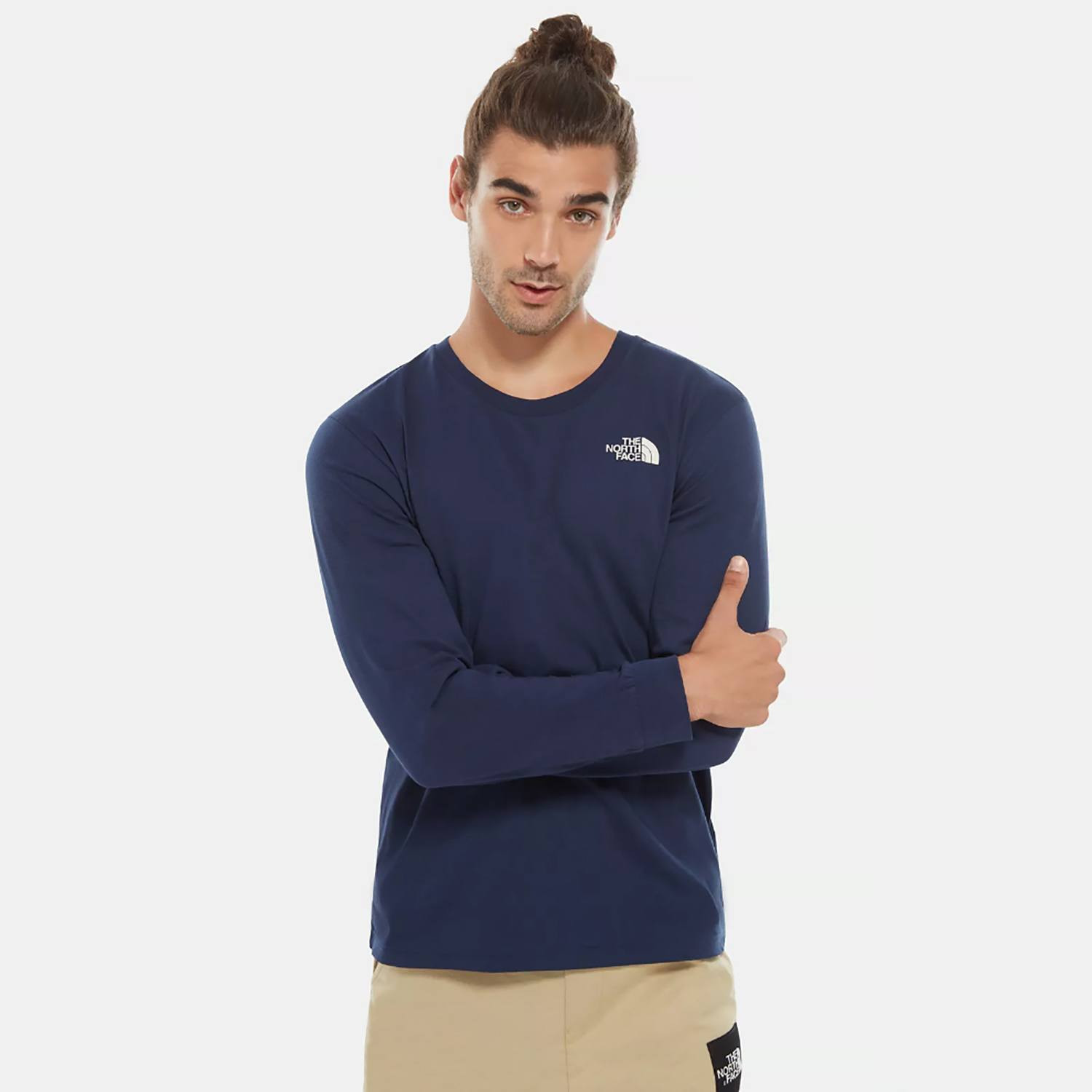 THE NORTH FACE M LS SIMPLE DOME TEE (9000036678_41096)