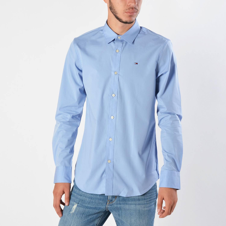 Tommy Jeans Original Strech Men's Shirt - Ανδρικό Πουκάμισο (9000014192_22901)